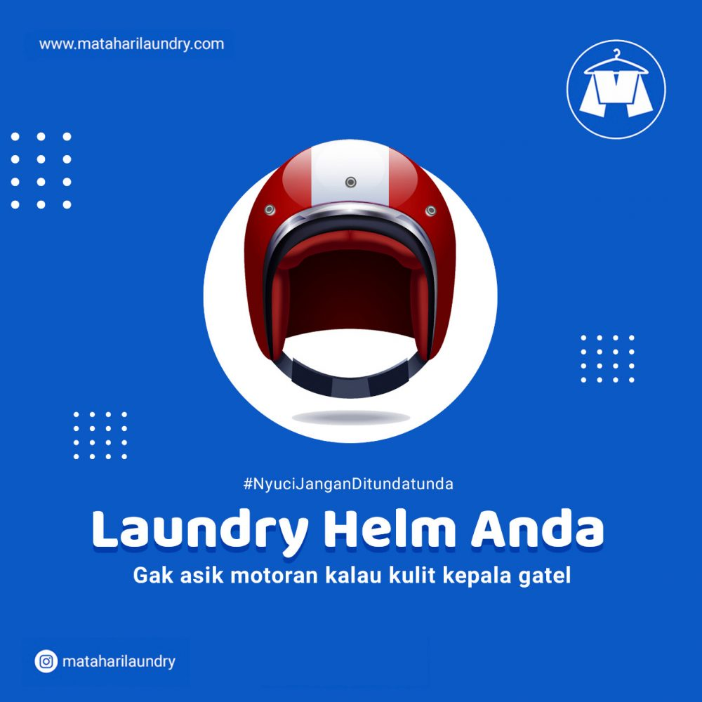 Layanan Laundry Helm